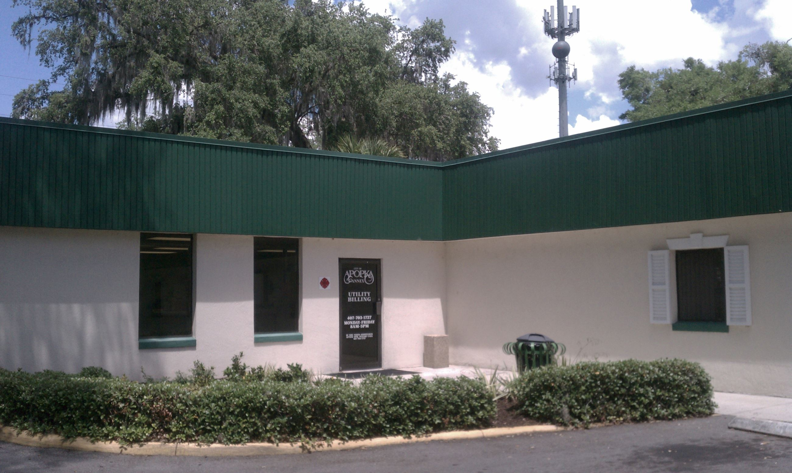 Apopka City Hall Annex Door